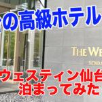 【仙台の高級ホテル】ウェスティンホテル仙台に泊まってみた