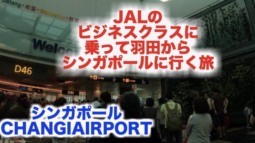 シンガポール CHANGIAエアポート 降機〜イミグレ〜タクシー移動