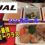 【世界最強エコノミー】JALシンガポール →羽田